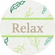 Nature Escape- Relax Label