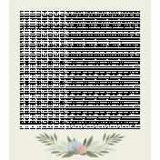 Flower Power Mini Add-On- Polaroid Frame