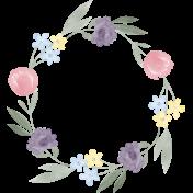 Flower Power Mini Add-On - Wreath