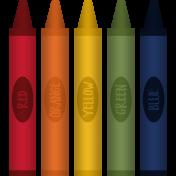 Kids Ahead Add-On- Crayons