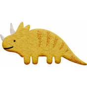 Dinosaur 3 Felt