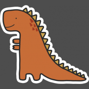 Dinosaur 2 Sticker