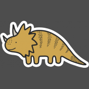 Dinosaur 3 Sticker