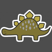 Dinosaur 4 Sticker