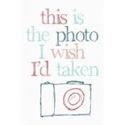 the photo i wish i'd taken