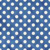 Project Life- Dotty Paper Blue & White