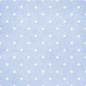 Project Life- Dotty Paper Light Blue & White