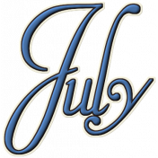 Project Life- July Word Art 1