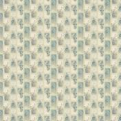 Flower Panel Pattern Paper