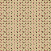Forest Flowers Pattern Paper