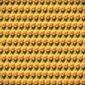 Yellow Rose Pattern Paper