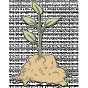 Garden Fun Plant Sprout Element