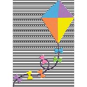 Rainbows Collection Kite Element