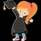 Grad Night Distressed Chipboard Girl 2