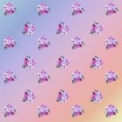 Flower Scrapbook paper- LilianHansen