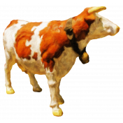 Textured Cow