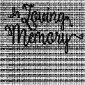 Remembrance Word Art-In Loving Memory