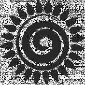 Swirl Stamp