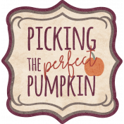 Picking The Perfect Pumpkin Label