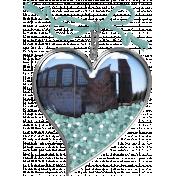 Coastal Heart Charm 2
