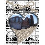 Coastal Heart Charm 5
