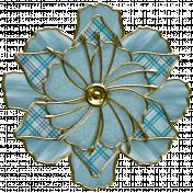 Renaissance Faire Wired Flower #04