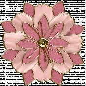 Renaissance Faire Wired Flower #05