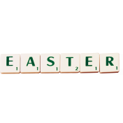 scrabble word easter