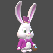 Easter bunny 3D-1