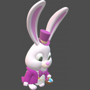 Easter bunny 3D-2