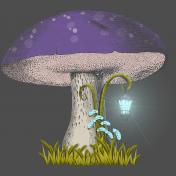 Enchanted Mushroom Lantern