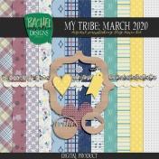 My Tribe: March 2020 Blog Train Kit
