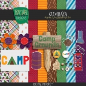 Kumbaya June 2020 Blog Train Mini Kit