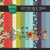 July 2020 Blog Train Kit