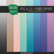 Phil & Lil Ombre Paper Kit