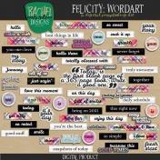 Felicity: Wordart
