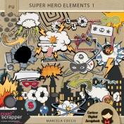Super Hero Elements 1