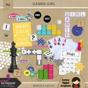 Gamer Girl Elements