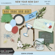 New Year New Day Elements Kit