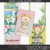 Mama Llama Journal Cards