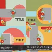 Jack & Jill page template kit