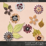 Sweaters and Hot Cocoa Flowers