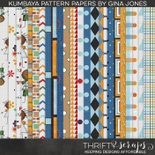 Kumbaya Pattern Paper