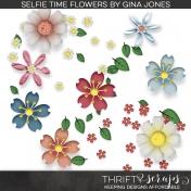 Selfie Time (flowers)