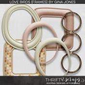 Love Birds (Frames)