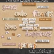 Love Birds (Words)
