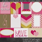 Journal Card Templates Volume 01