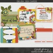 Delish Dex Cards