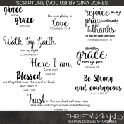 Scripture Word Art (Volume 03)