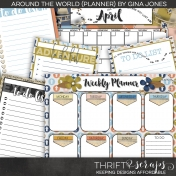 Around the World- Planner